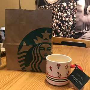NEW!! Starbucks Limited Edition Ceramic Handle Mug